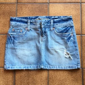 Size 2 American Eagle jean skirt
